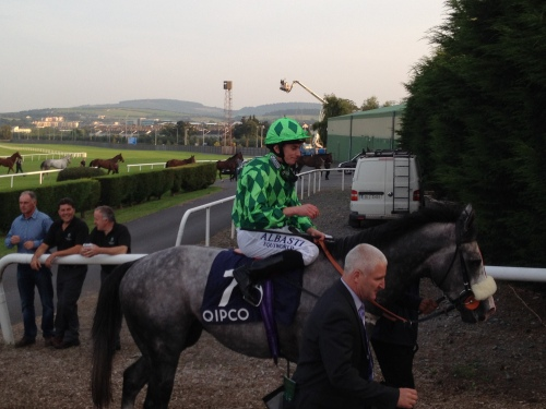 The Grey Gatsby returns having won The Irish Champions Stakes