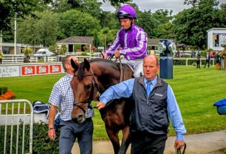 Bondi Beech before the Desmond Stakes