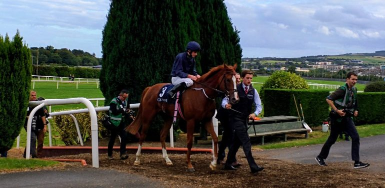 1st Coolmore Alice Springs on the way in after winning the Coolmore Matron Stakes